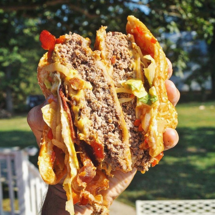 burgers sunshine burger