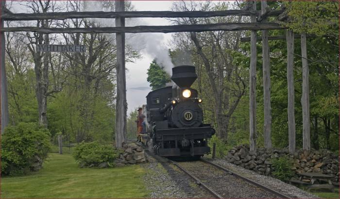 9. Take a train ride into history on Cass Scenic Railroad