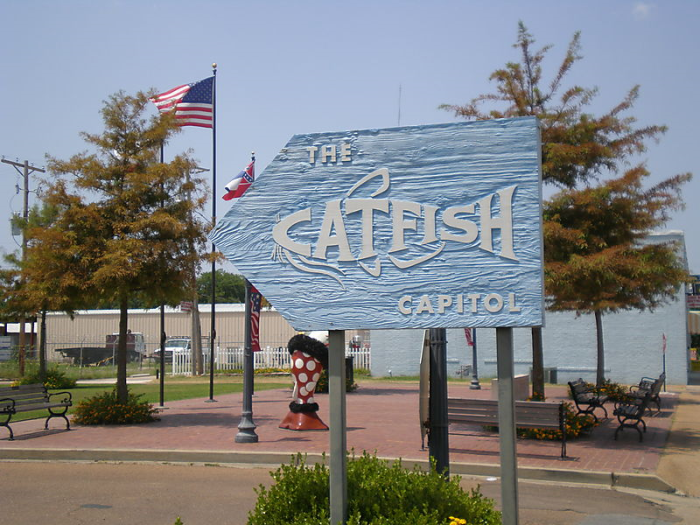 4. Mississippi is the Catfish Capitol of the World.