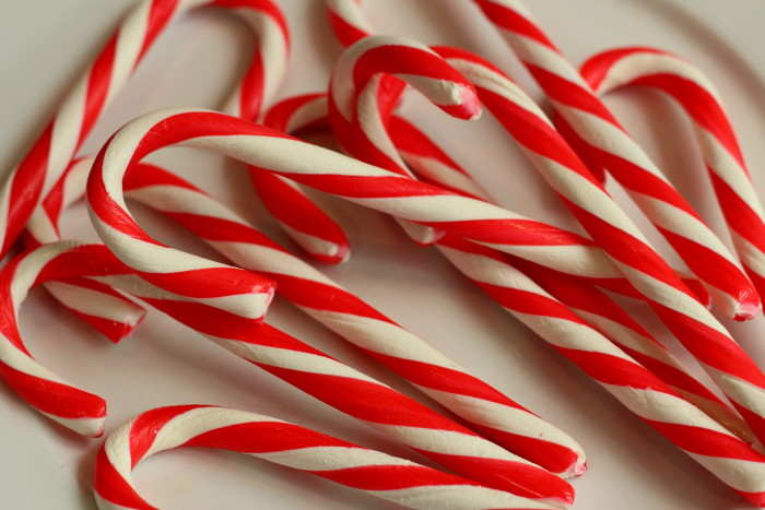 4. Classic candy canes.