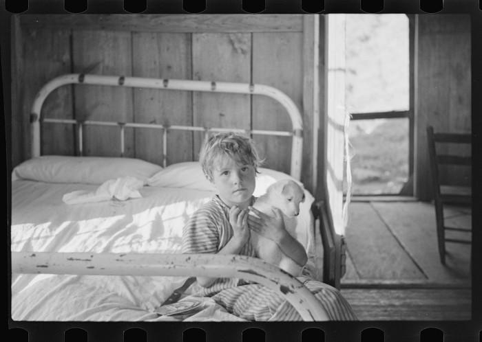 3. Sharecropper's Child With Friend