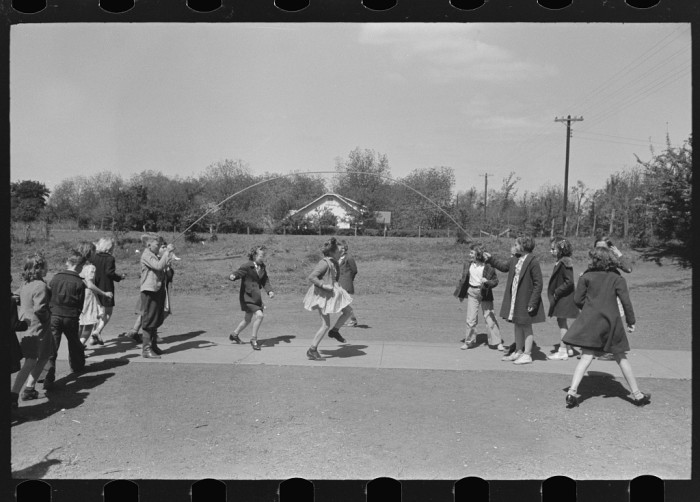 The days when schoolchildren worried only about not tripping over a jumprope were splendid days indeed.