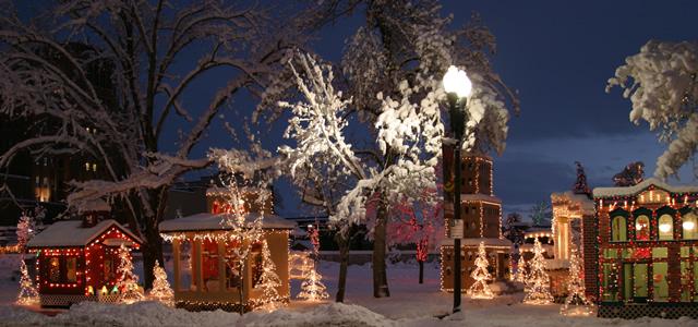 13. Ogden City Christmas Village