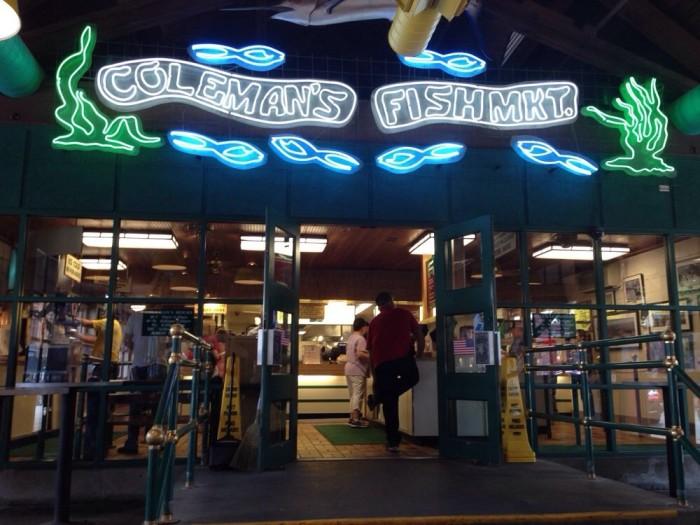 5. Coleman's Fish Market in Wheeling