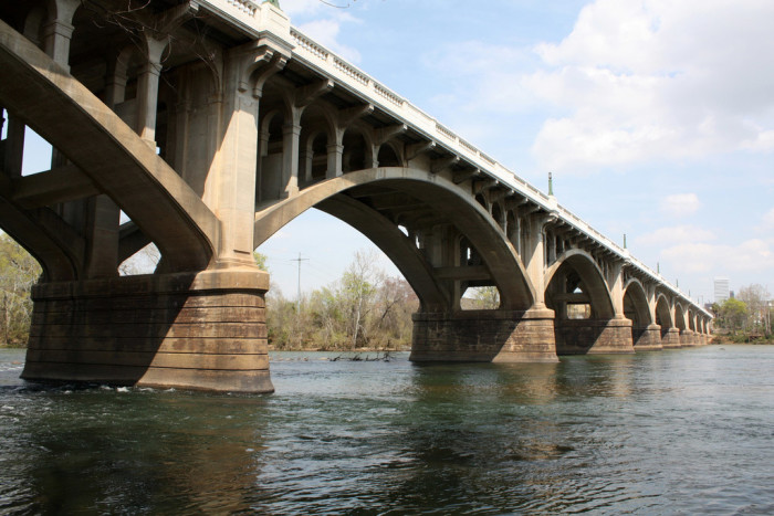 6. Columbia, SC - Congaree River