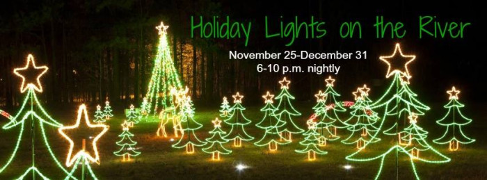 5. Columbia - Holiday Lights on the River - Saluda Shoals Park