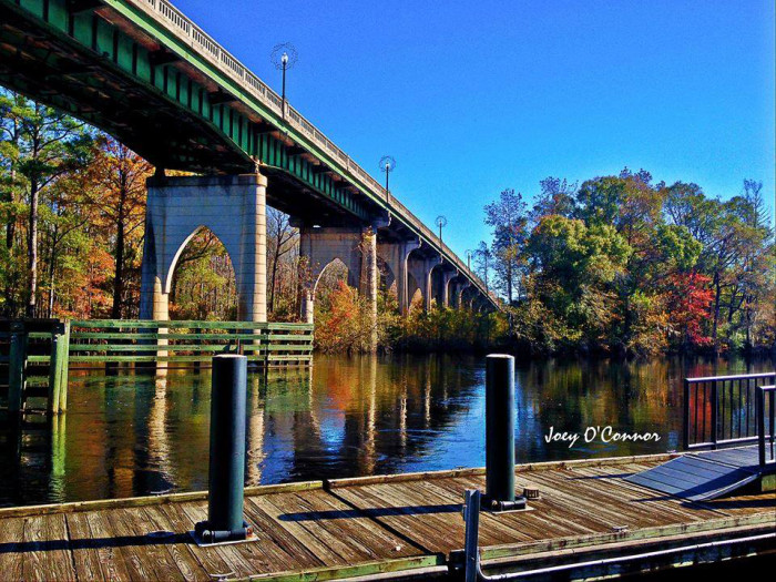 1. The Riverwalk in Conway. Photo by Joey O'Connor Photography.