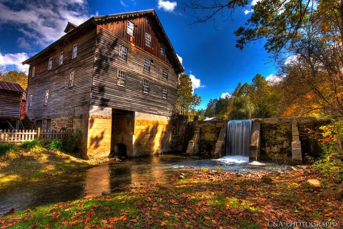 9. This one is Cook's Old Mill in Greenville