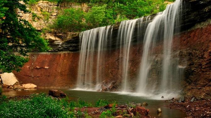 4. Chasing waterfalls.