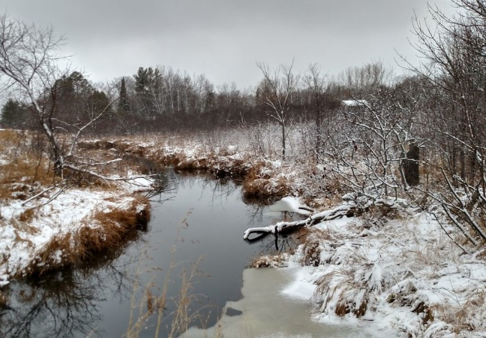 25. Becky Miller took this amazing shot near Garrison in the early winter.