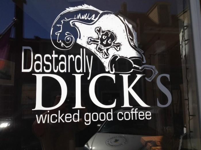 9. Dastardly Dick's Wicked Good Coffee, Eastport