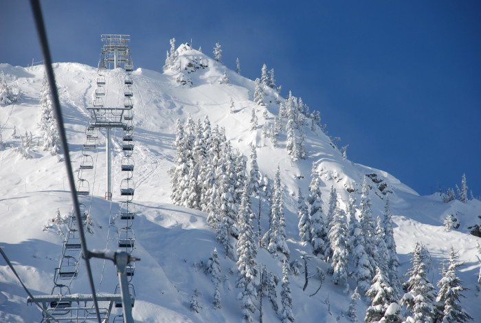 2. Enjoy an exhilarating day up on Crystal Mountain.