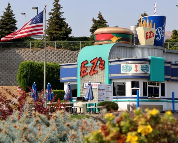 9. EZ's Burgers, Wenatchee