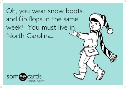 5. Another weather joke. But hey, this one is pretty true!