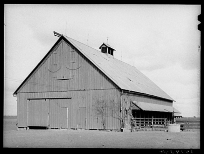 1. This barn in Travis County housed a family by night and allowed them to cultivate cotton by day.