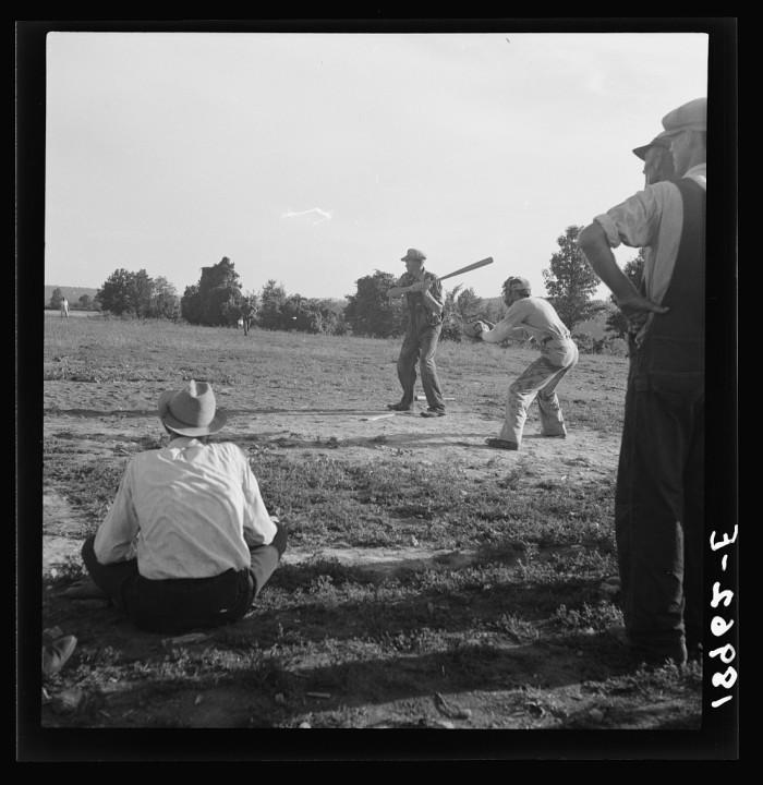 2. Farmer's Baseball Game
