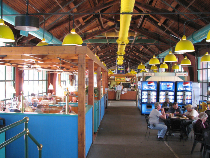 5. Try the food at Wheeling's famous Coleman's Fish Market