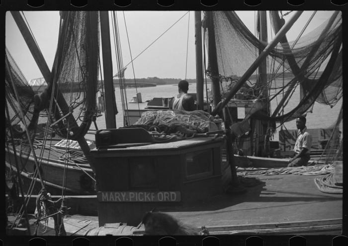 8. Fishing boats on St. Helena Island, SC.