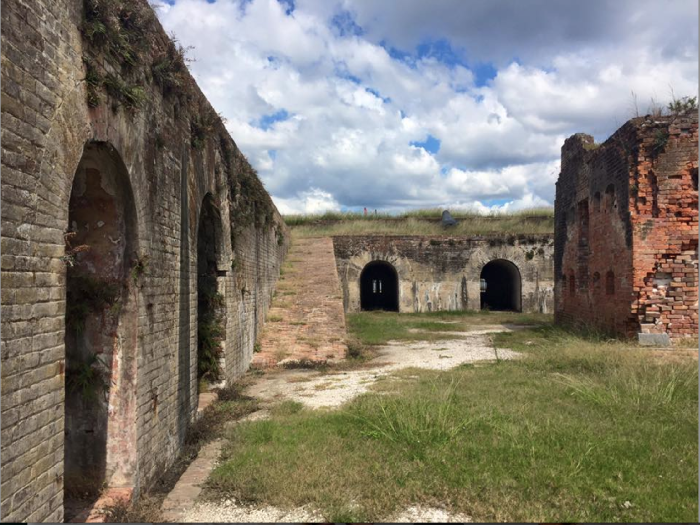 1. Fort Pike, Outside of New Orleans