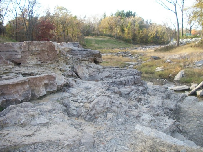 12. Uncover hidden prehistoric clues at the Devonian Fossil Gorge in Coralville.