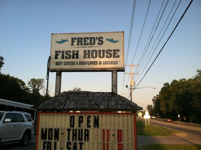 15. Fred's Fish House