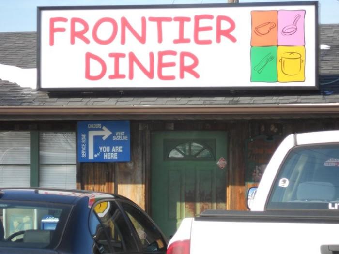 14. Frontier Diner