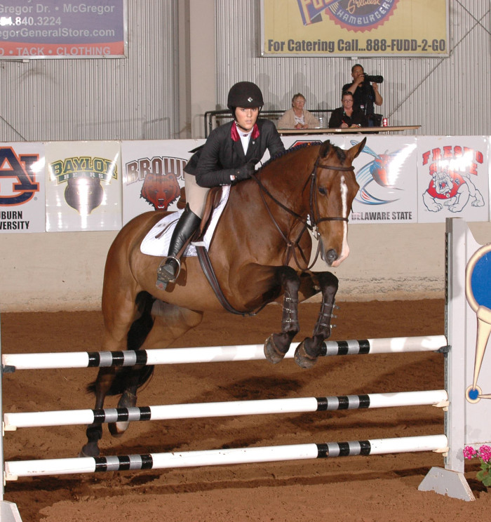 3. The 2015 NCEA National Equestrian Championship