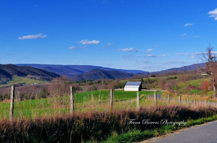 18. This beautiful shot taken from German Valley Road in Pendleton County