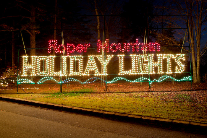 6. Greenville - Roper Mountain Holiday Lights - Roper Mountain Science Center