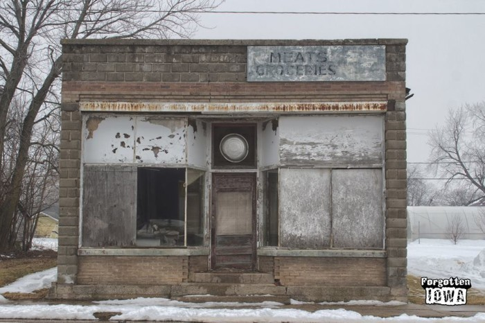 6. Old grocery store, Bagley