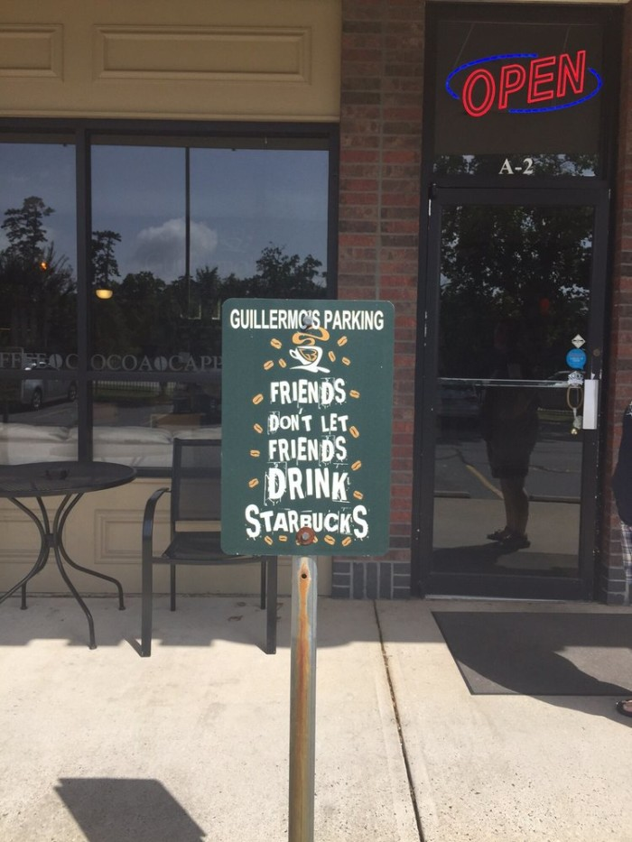 1. Guillermo's Gourmet Grounds