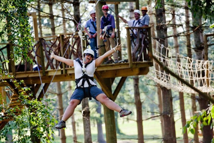 4. Harpers Ferry Zip Line Canopy Tours