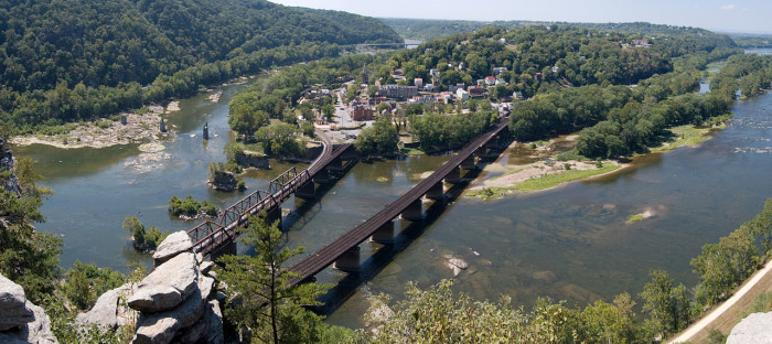 10. Harpers Ferry: baby thrown in river