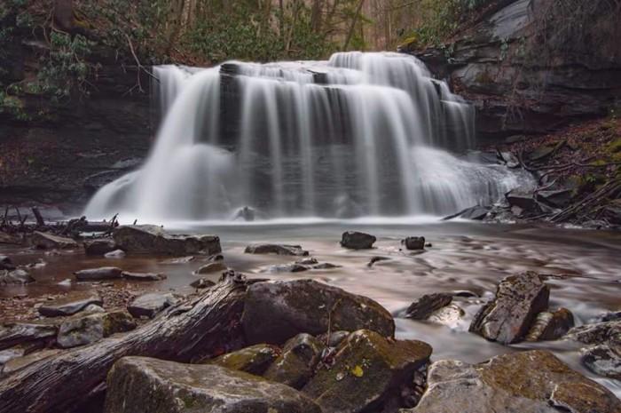 17. This shot of Holly River State Park in Webster County