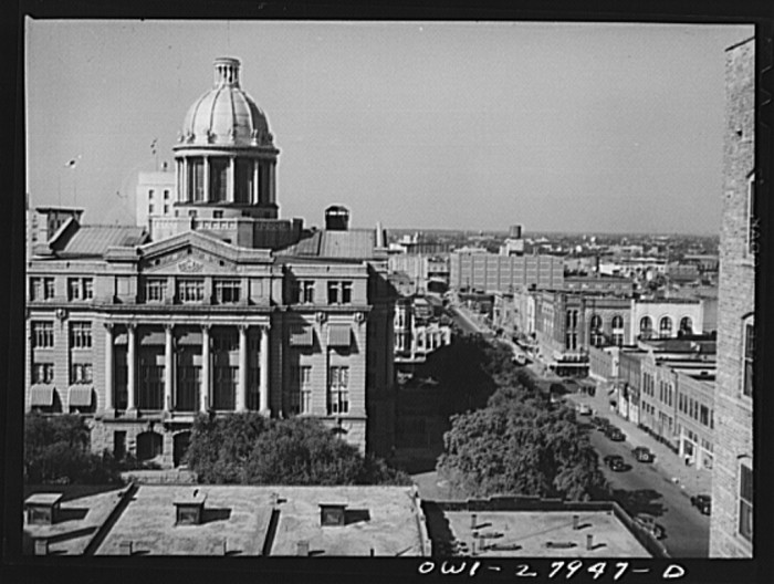 11. Harris County Courthouse (1943 & 2010)