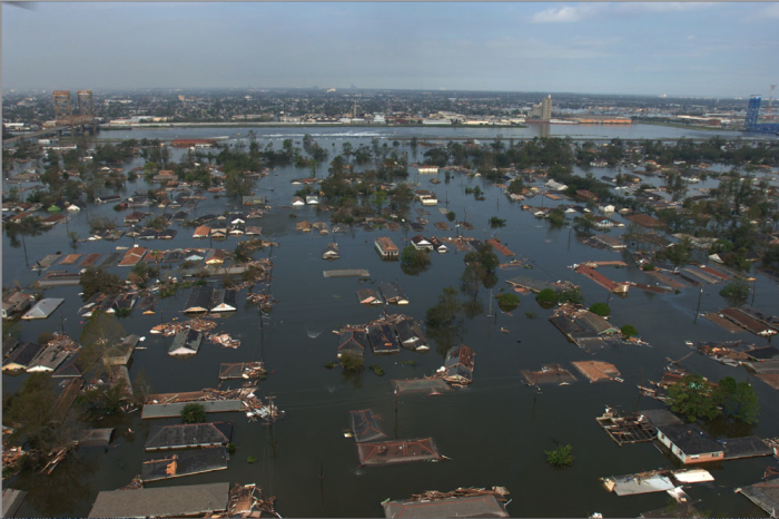 12. Hurricane Katrina