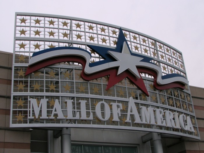 13. Mall of AMERICA. Need we say more?