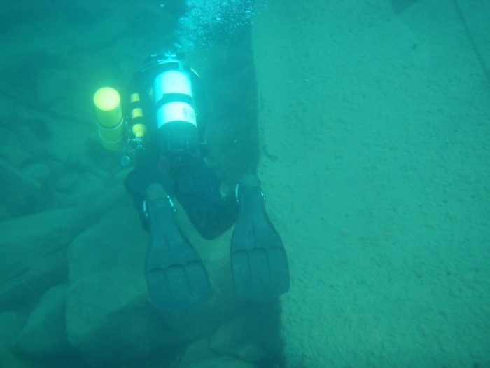 23. Learn how to scuba dive in one of MN's lakes or rivers.
