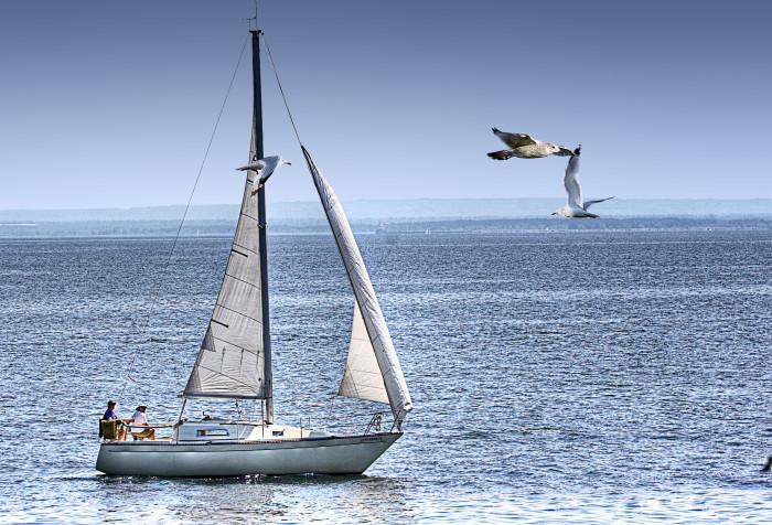 16. Learn to sail Lake Superior.
