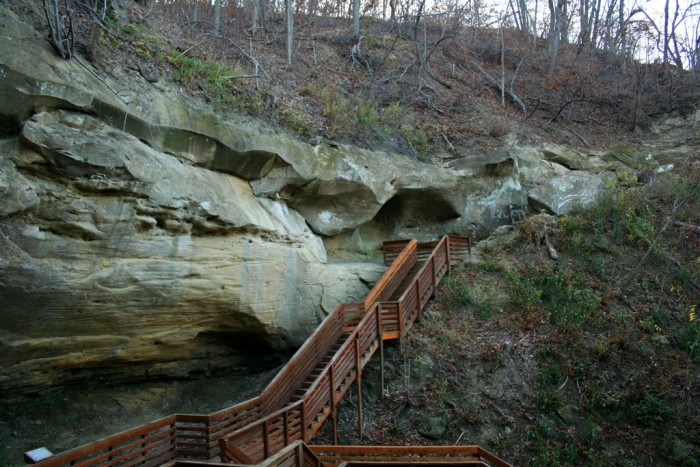 4. Indian Cave State Park