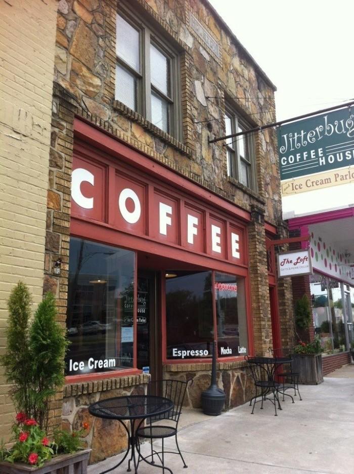 8. Jitterbug Coffeehouse