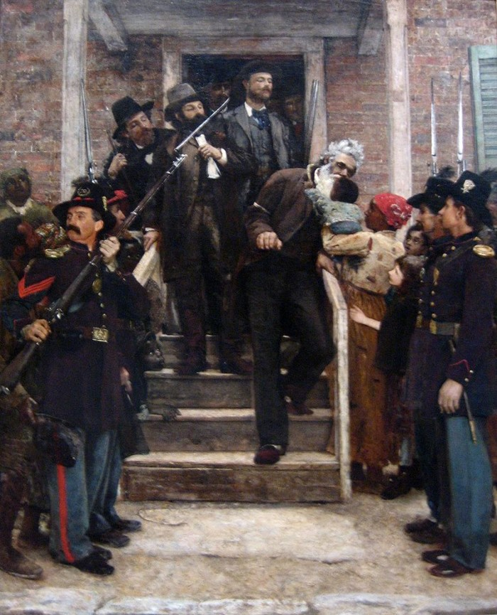 1. In 1859, John Brown, an abolitionist, led a raid on a national armory at Harpers Ferry because he was trying to arm a planned slave rebellion. He was ultimately tried at the Jefferson County Courthouse and hanged.