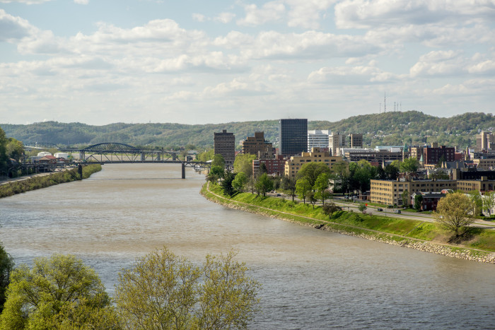 9. Kanawha, where residents gave on average 3.34 percent of their incomes, and a total of $80.5 million.