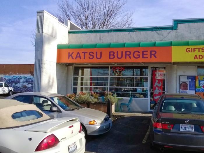 12. Katsu Burger, Georgetown Seattle