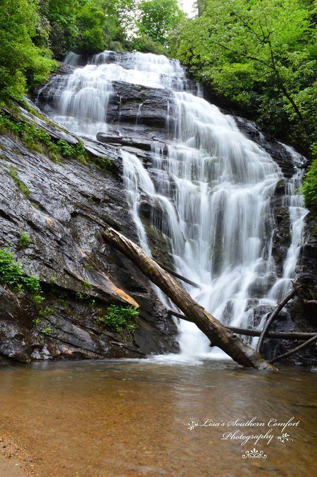 9. Kings Creek Falls, just north of Wahalla. Photo by Lisa's Southern Comfort Photography.