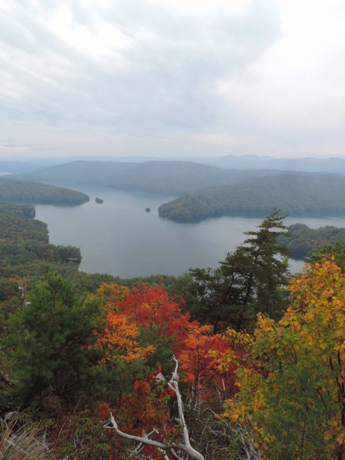 20. Lake Jocassee. Photo by Mark Holsclaw's Art & Photography.