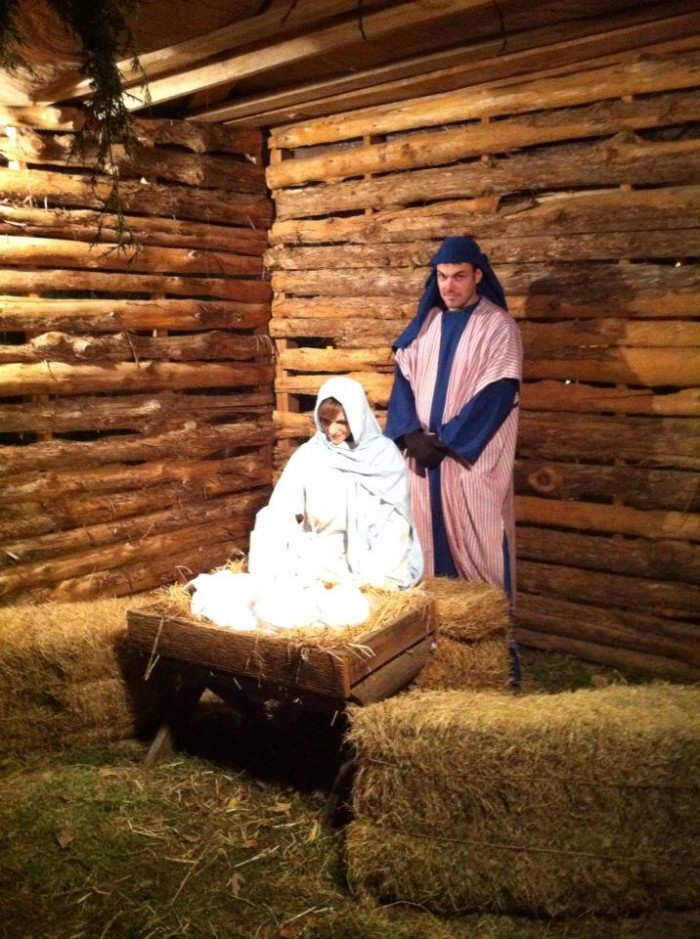 4. The living Nativity scenes