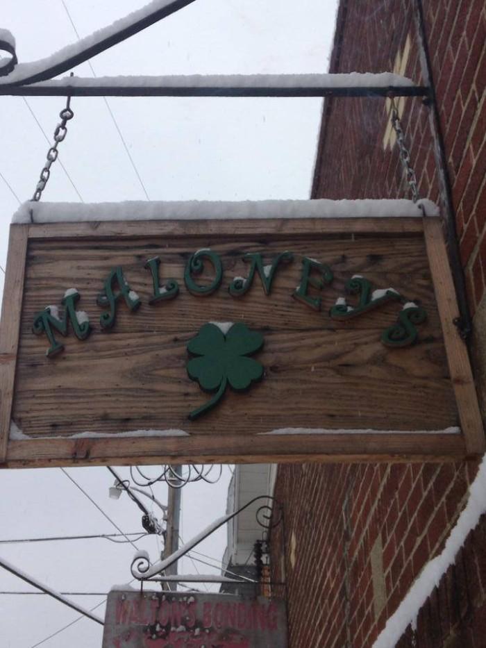 11. Maloney's in Summersville
