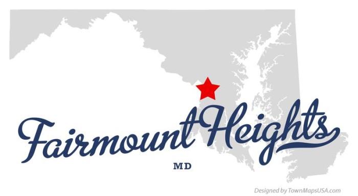 4) Fairmount Heights