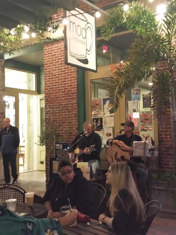 3. Mod Coffeehouse (Galveston)